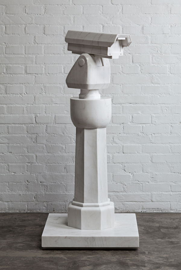 Ai Weiwei, Surveillance Camera and Plinth, 2015