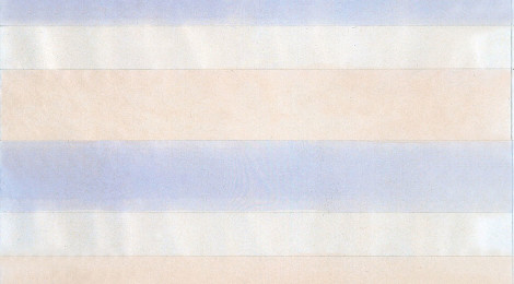 The Transcendental Minimalist:  Agnes Martin