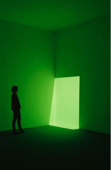Installation view of 67 68 69, photo by Florian Holzherr, copyright James Turrell, courtesy Pace Gallery.