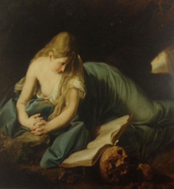 Anonymous, copy of a classical painting. Courtesy The Ebell of Los Angeles.