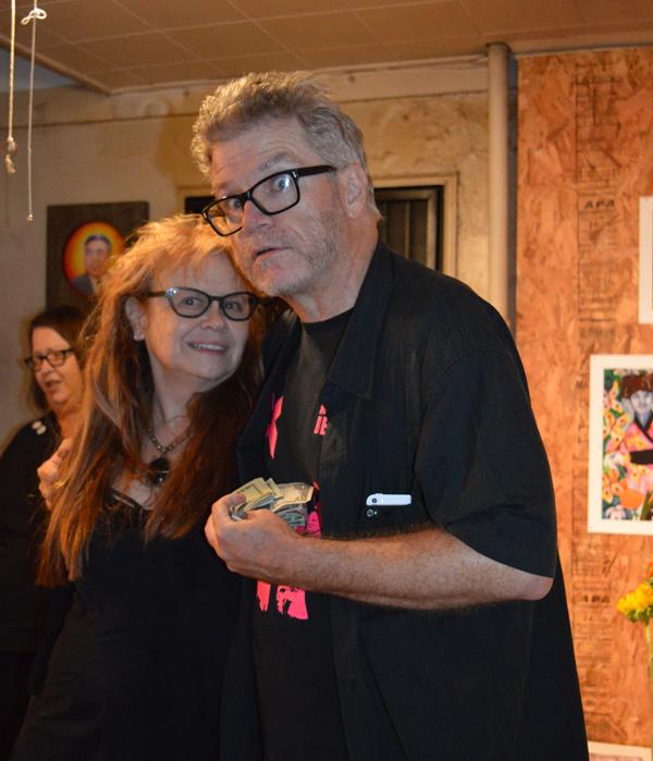 Johanna Went and Mat Gleason