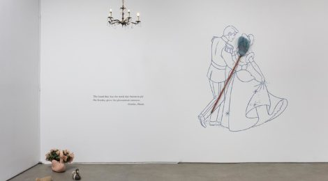 The Sorcerer's Apprentice, 2000 Installation view