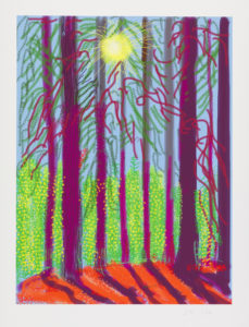 IPD 0328 BAT Untitled No 4 229x300 <h6 class=sub>LA Louver: </h6><h1 class=post title entry title>David Hockney</h1>