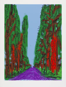IPD 0330 BAT Untitled No 5 227x300 <h6 class=sub>LA Louver: </h6><h1 class=post title entry title>David Hockney</h1>