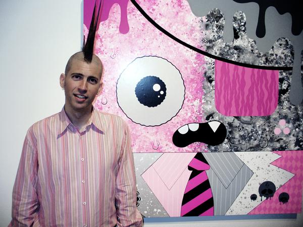 Buff Monster at Corey Helford Gallery.