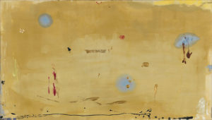 "Helen Frankenthaler, ""Brother Angel"" (1983), acrylic on canvas, courtesy Gagosian Gallery"