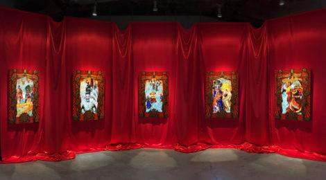 Federico Solmi, The Ballroom, 2016, ©Federico Solmi, courtesy of the artist and Luis De Jesus Gallery, Los Angeles.