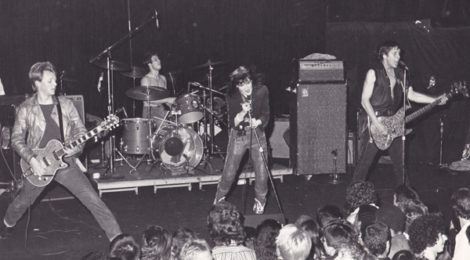 X at the Whisky a Go Go, August, 1980, photo by Lynda Burdick.