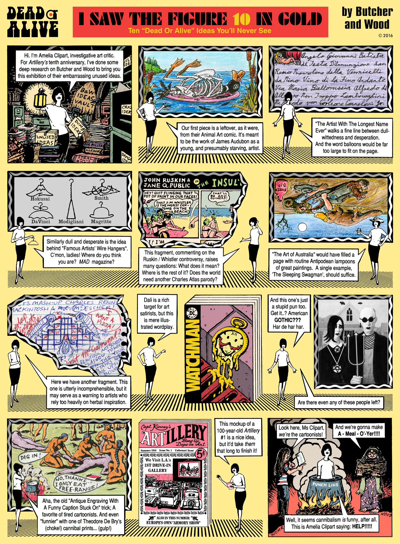 comix 10years Amelia Clipart