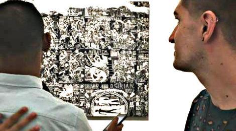 Umar Rashid's work at New Image Art