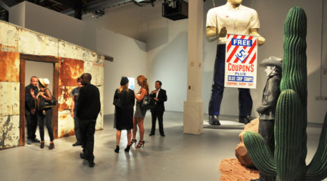 """Dennis Hopper: Double Standard"" at the Geffen, July, 2010."