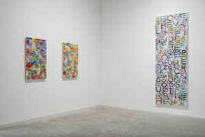 "Gary Lang, ""Rising,"" installation view, courtesy of the artist and Ace Gallery."