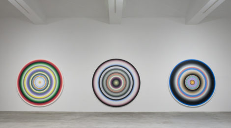"""Gary Lang, """"Rising,"""" installation view, courtesy of the artist and Ace Gallery."""