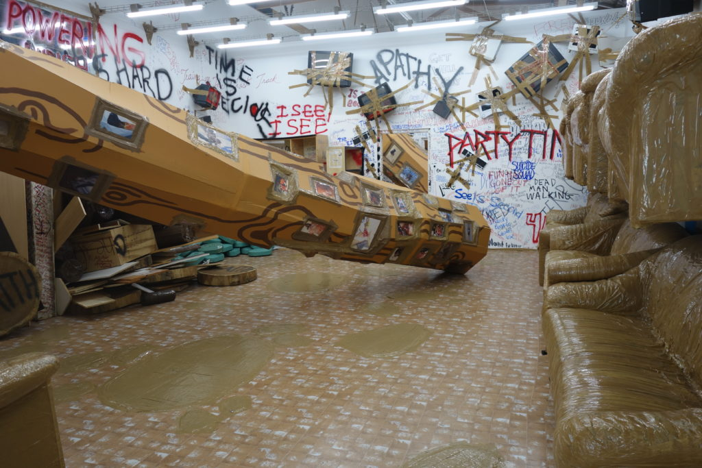 The Mistake Room: Thomas Hirschhorn - Artillery Magazine