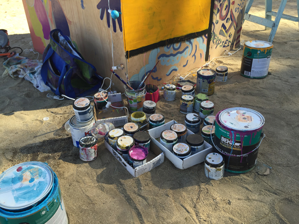 paint cans Desert Daze: No Need for Drugs