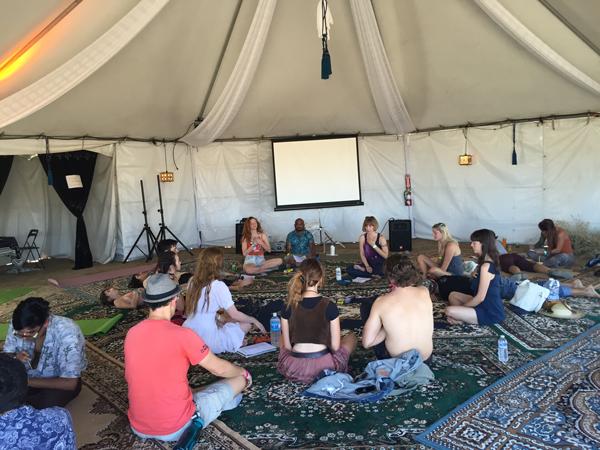 yoga Desert Daze: No Need for Drugs