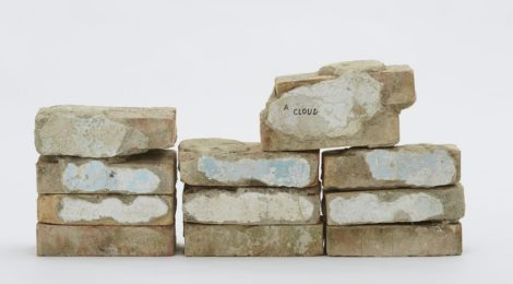 "Jimmie Durham, ""These Twelve Bricks Were Used to Represent the Dawn Sky in Venice,"" 2015"