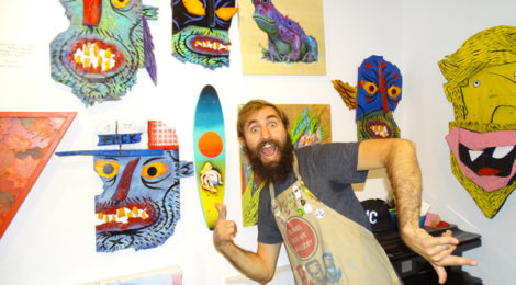 Rolnik in his gallery