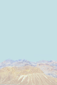 Jordan Sullivan, Death Valley Mountain 30 (2016), courtesy of the artist and MAMA Gallery.