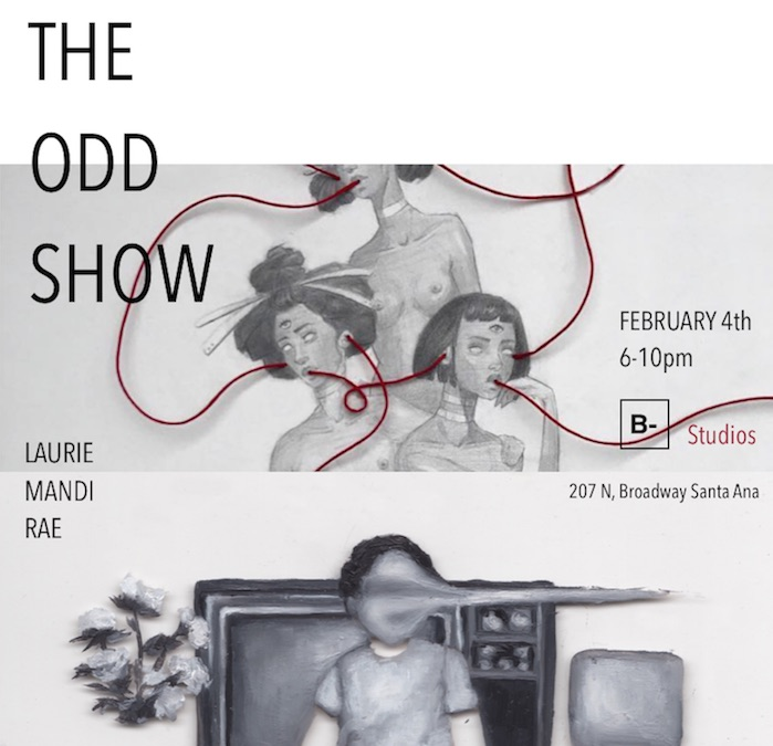 The Odd Show Mandi Laurie  Events