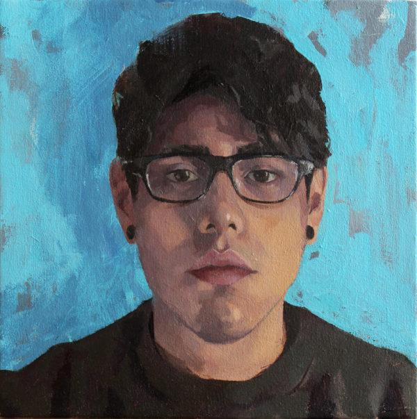 Art HDIL Santiago Galeas Self Portrait at 25 2016 e1486001482147 Exploring the Queer Self