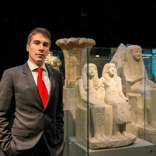 Greco 600x600 Art and Science: Bringing Egypt's Magic to the Museum with Museo Egizio director Christian Greco
