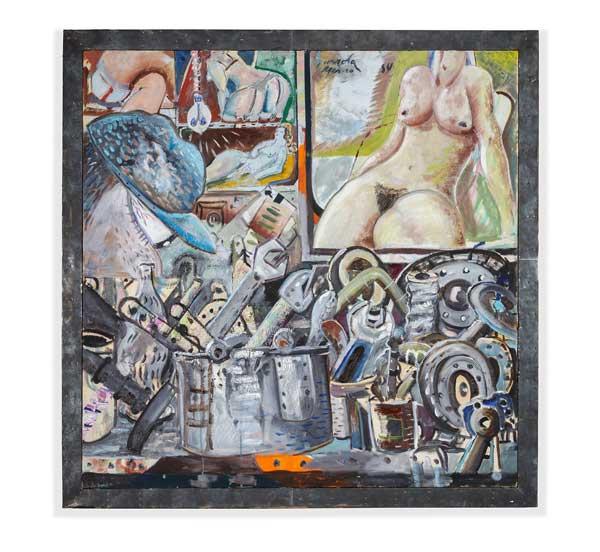 Gurrola painting Zona Maco Art Fair Report