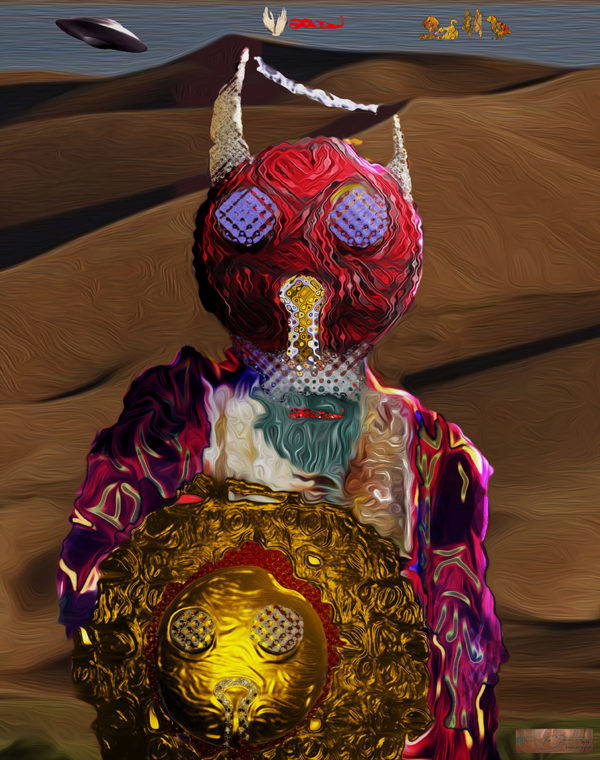 Knight 600x760 Leo Garcia: My Alien Abduction