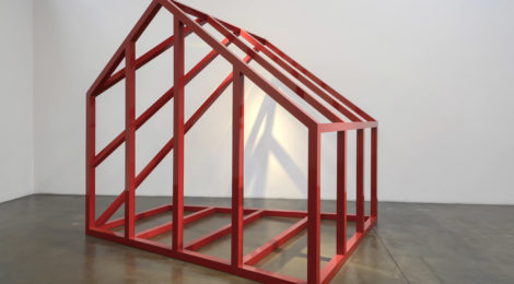 "Rachel Lachowicz, ""House Under Construction"", 2017 © Rachel Lachowicz, courtesy of Shoshana Wayne Gallery, Los Angeles."