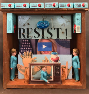 fried 285x300 Online Exhibition: Politically Inspired Art