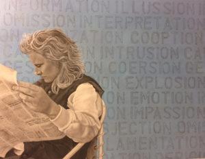 lynn x600 300x232 Online Exhibition: Politically Inspired Art