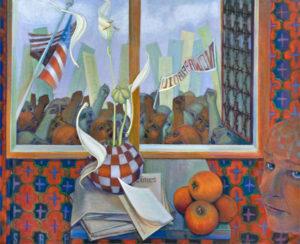 powsner x100 300x244 Online Exhibition: Politically Inspired Art