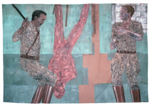 Golub Interrogation I 300x212 <h6 class=sub>The Broad Museum: </h6><h1 class=post title entry title>Creature</h1>