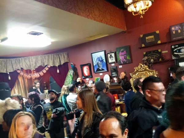 LASTNIGHT crowd The Mystic Art Zone