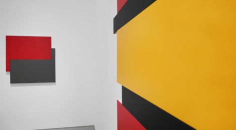Scot Heywood: Shift|Stack|Sunyata, (installation view). Courtesy of Peter Blake Gallery.