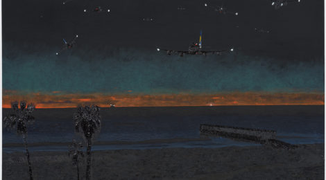 Cole Case, Vista Del Mar Nocturne (2016), courtesy of the artist and Chimento Contemporary.