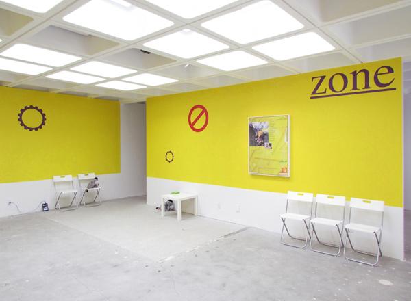 "Installation view, Jacob Ciocci, ""Show #28,"" And/Or Gallery, Pasadena"