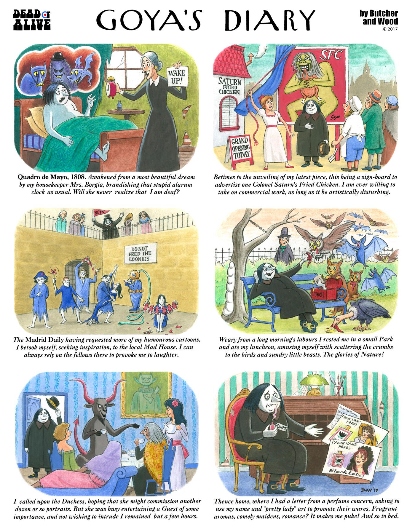 comix Goya300 COMICS