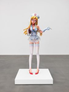 murakami nurse 226x300 <h6 class=sub>The Broad Museum: </h6><h1 class=post title entry title>Creature</h1>