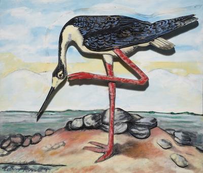 Black Necked Stilt 1997 copy Curators Talk | Birds of America with Sloan Schaffer and Peter Frank