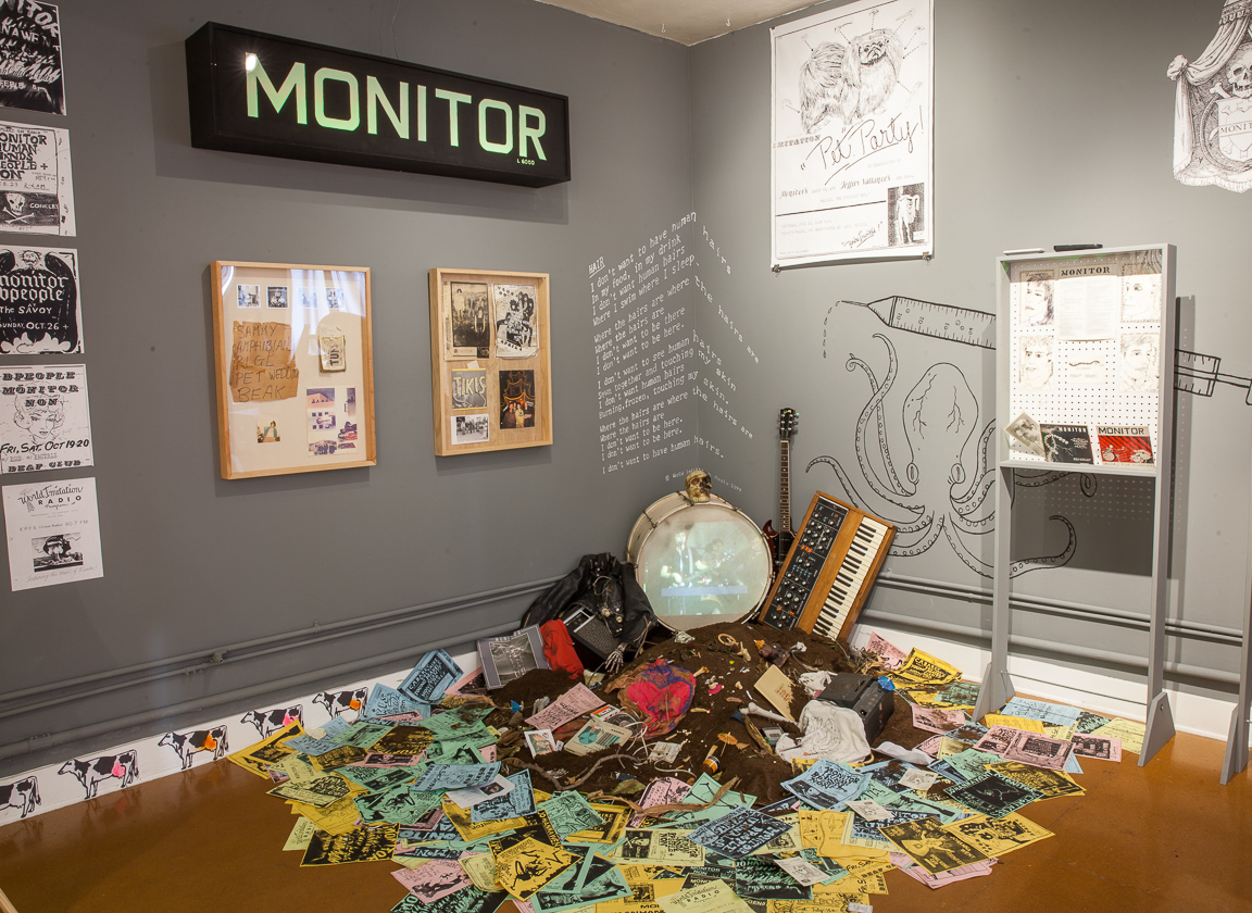 Afraid of Modern Living | World Imitation & Monitor 1977-1982, installation view, courtesy of These Days.