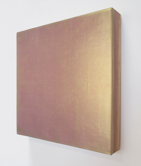 DS334 David Simpson Medium of Exchange 1998 acrylic on canvas interference pigment 16x16 right Events