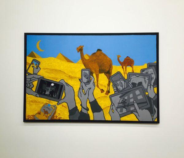 Derek Boshier Pyramids 2014 e1495061512668 Engaging Art for Everyone