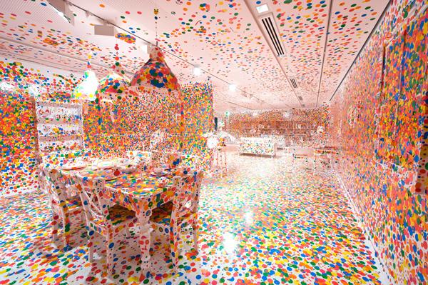 Kusama Obliteration Room 2012 098 008 Infinite Epiphany: Yayoi Kusama