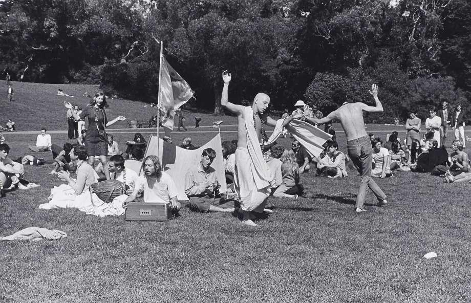Ruth-Marion Baruch, 'Hare Krishna Dance in Golden Gate Park, Haight Ashbury', 1967