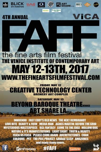 faff Fine Arts Film Festival 2017