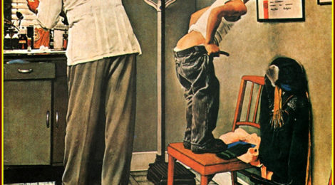 Norman Rockwell, At the Doctor's, 1958.