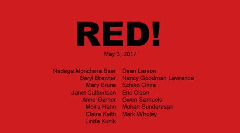Online Exhibition: RED! Jane Chafin: Offramp www.janechafinofframp.com