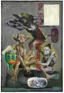 yessirnosir copy 209x300 <h6 class=sub>Coagula Curatorial: </h6><h1 class=post title entry title>Manuel Ocampo & Irene Iré</h1>