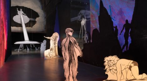 "Jim Shaw, ""The Wig Museum"" (installation photo by Robert Wedemeyer), courtesy Marciano Art Foundation"